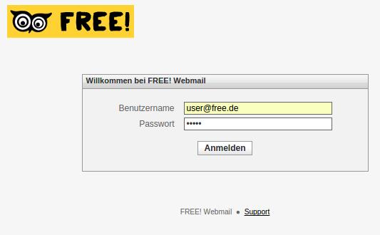 FREE! Webmail Login